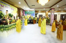 Sangha Budista de Vietnam celebra el Día de Vesak