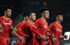 Equipo de fútbol de Vietnam se esfuerza por conseguir mejor resultado en ronda eliminatoria