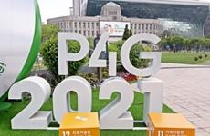 Inauguran Cumbre de Asociación para Crecimiento Verde y Objetivos Globales 2030