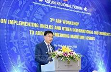 Destaca Vietnam papel de UNCLOS de 1982 para la paz en la región