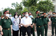 Hanoi decidida a reducir riesgo de infección cruzada en áreas de cuarentena
