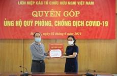 Convoca VUFO de Vietnam donación para fondo antiCOVID-19