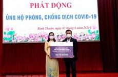 Más fondos recaudados para la lucha contra el COVID-19