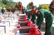 Repatrían restos de mártires vietnamitas caídos en Laos