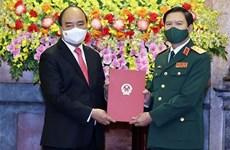 Nguyen Tan Cuong nombrado al Jefe del Estado Mayor General del Ejército Popular de Vietnam