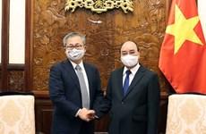 Presidente vietnamita estimula a empresas japonesas a aumentar inversiones en el país