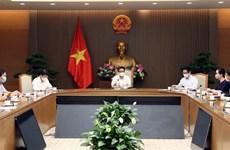 Vicepremier de Vietnam recibe a empresas donantes a fondo nacional de vacunación contra COVID-19