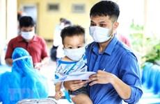 Permiten cuarentena domiciliaria para niños infectados del COVID-19 en provincia de Bac Giang