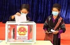 Alta tasa de participación en elecciones refleja confianza de la población en el Partido y Estado