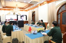 Efectúan seminario científico virtual sobre nexos en defensa entre Vietnam y la India