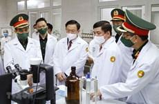Instan a acelerar ensayos clínicos de vacuna Nano Covax