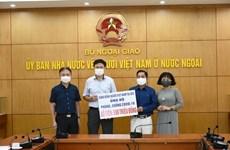 Reciben donativos de vietnamitas en ultramar para combate contra el COVID-19