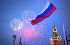 Felicita Vietnam el Día de Rusia
