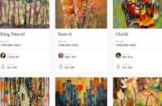 Presentan en Vietnam obras artísticas en plataforma digital