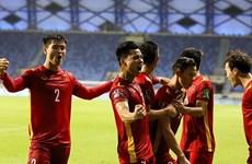 Equipo de fútbol masculino de Vietnam sube en ranking de FIFA
