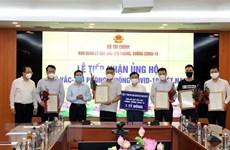 Vietnam recauda fondo millonario para adquisición de vacunas contra COVID-19