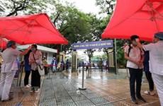 Finalizan 93 mil alumnos de Hanoi examen de ingreso en bachillerato