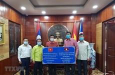 Provincias laosianas se unen a esfuerzos de Vietnam en lucha contra COVID-19