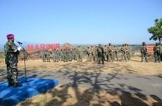Marines de Indonesia y Estados Unidos realizan ejercicio conjunto