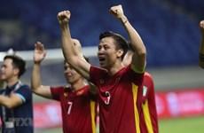 Preparado equipo de fútbol de Vietnam ante duro partido contra los EAU