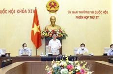 Clausuran reunión 57 del Comité Permanente de Asamblea Nacional de Vietnam