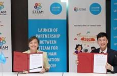 UNICEF apoya a niños vietnamitas a mejorar sus habilidades digitales