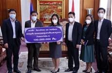 Provincia laosiana apoya esfuerzos de respuesta al COVID-19 en Vietnam