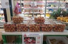 Lichi vietnamita recibe alta valoración de consumidores franceses