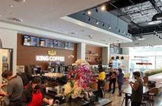 Firma vietnamita abrió primera tienda de café en Estados Unidos