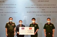 Ministerio de Defensa de Vietnam obsequia suministros médicos a Laos