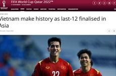 FIFA impresionada por logros históricos de selección nacional vietnamita