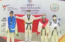 Vietnam gana medalla de oro en campeonato asiático de taekwondo