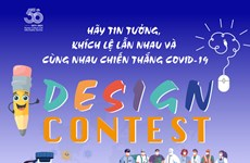 Centro surcoreano en Vietnam lanza concurso de diseño sobre cooperación internacional contra el COVID-19