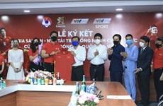Empresa SABECO patrocinará a las selecciones nacionales de fútbol de Vietnam