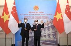 Vietnam y Singapur por un acuerdo bilateral sobre la economía digital