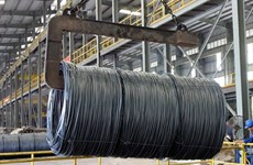 Fuerte aumento de exportaciones de acero de Vietnam