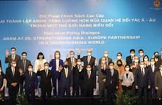 Preside Vietnam Diálogo de Políticas de alto nivel de ASEM