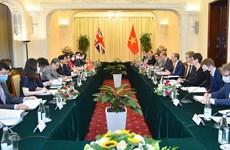 Vietnam y Reino Unido robustecen asociación estratégica bilateral