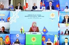 Instan a fomentar cooperación ASEAN+3 en lucha contra COVID-19