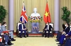 Exhortan a profundizar asociación estratégica Vietnam- el Reino Unido