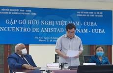 Vietnam reafirma solidaridad con Cuba