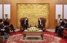 Hanoi y Singapur por ampliar cooperación en múltiples sectores