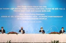 Resaltan importancia de la ASEM para crecimiento global