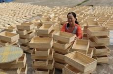 Vietnam reporta alza en exportaciones de ratán, bambú, juncia y alfombra