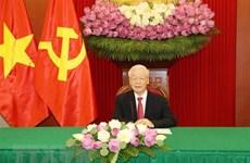 Destacan experiencias compartidas por máximo dirigente vietnamita sobre socialismo