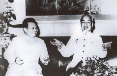 Alaba periódico PathetLao gran amistad Vietnam-Laos