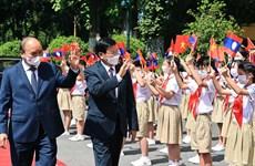 Prensa laosiana destaca visita a Vietnam de su máximo dirigente