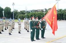 Cascos azules vietnamitas rinden tributo a Ho Chi Minh de regreso en la Patria