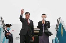 Concluye máximo dirigente laosiano visita oficial a Vietnam