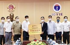 Empresa vietnamita dona jeringas y agujas para campaña de vacunación en el país